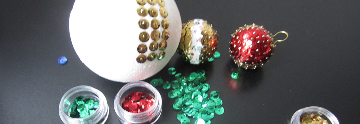 effets boules en polystyrène